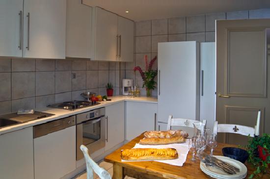 Residence Le Clos de Marie: cuisine appartements 6 personnes