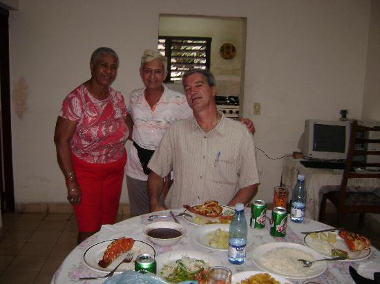 Melia Las Americas: Le souper chez tante Rita