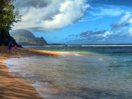 Pali Ke Kua Beach (Hideaway s Beach): Hideaways Beach