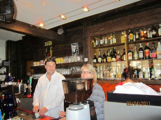 Hotel Plampras: le bar et la grillade