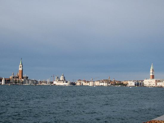 Bed and Breakfast Venezia : View near the water bus station out towards Lido
