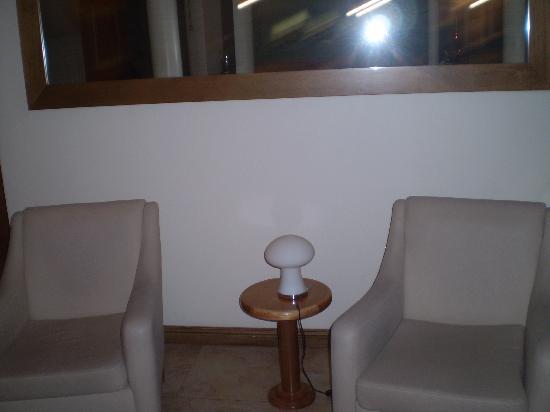 Hotel Egeo : Sala de estar