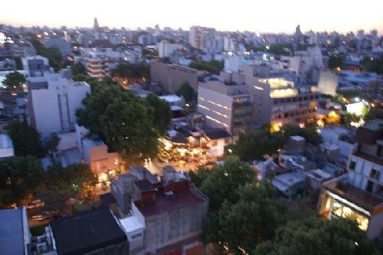 Hollywood Suites & Lofts: Ausblick vom Zimmer