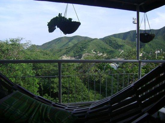 Mirador Hostel: Vista desde el hostel