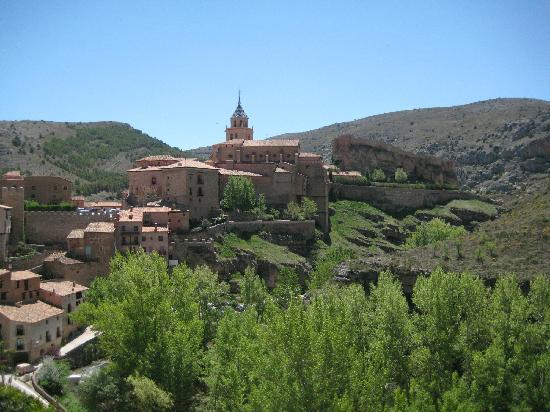 Teruel, Spagna: Panorámica de Albarracín