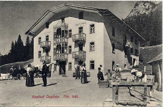 Ristorante Ospitale: Picture of Ospitale in 1905
