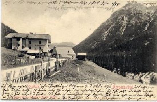 Ristorante Ospitale: Vecchia cartolina d'epoca