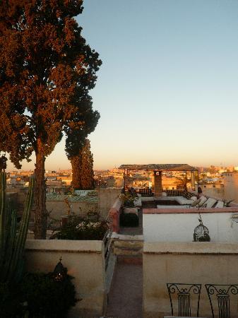 Hotel & Spa Riad Edward : The breakfast terrace