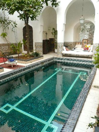 Hotel & Spa Riad Edward: The stunning plunge pool