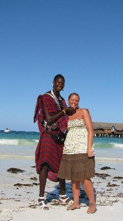 VOI Kiwengwa Resort: il mio masai