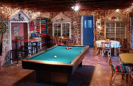 The Black Range Lodge: Our free game room offers pool, pac man, and wireless Internet.