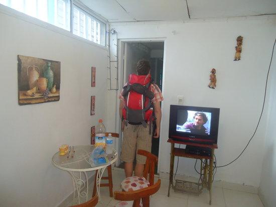 Posada Lizard House: Sala del apartamento.