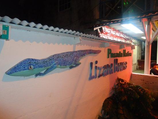Posada Lizard House: Entrada del hospedaje