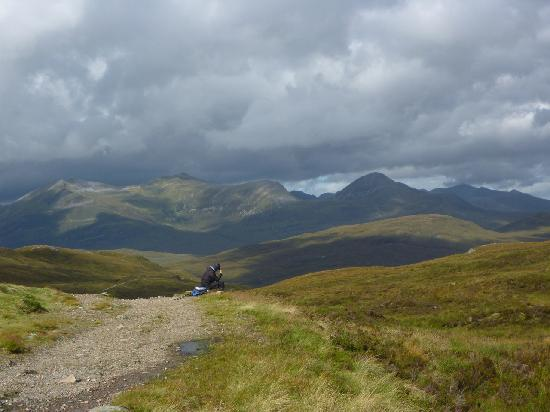 West Highland Way: Top of the Devils staircase