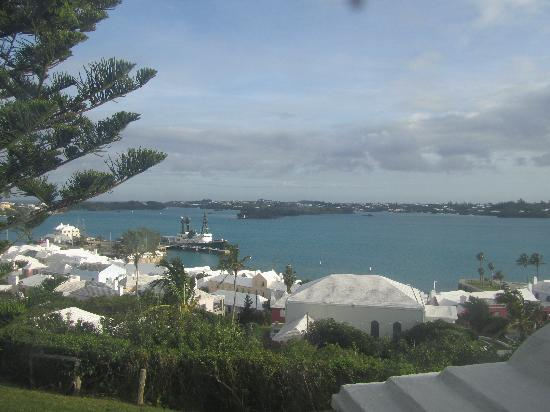 The St. George's Club: our view from our cottage
