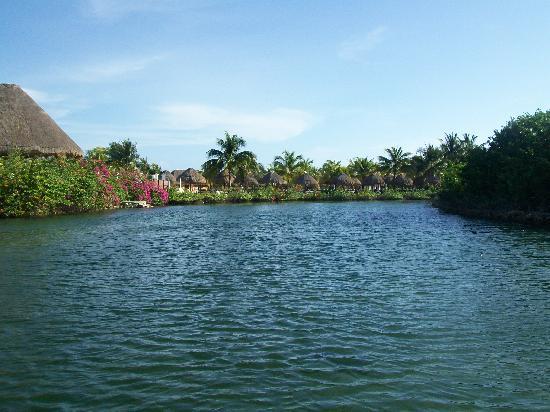Grand Palladium Riviera Resort & Spa: View from pontoon ride