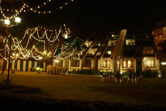 Valley view resort during Christmas eve...