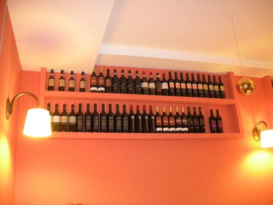 Osteria Ristorante La Greppia: bottiglie