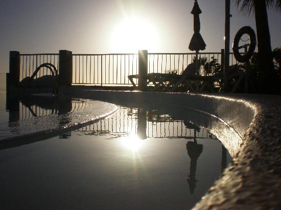 ClubHotel Riu Vistamar: Vy från översta poolen