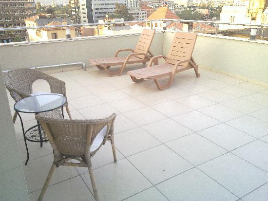 Hotel Baylan: Terrasse