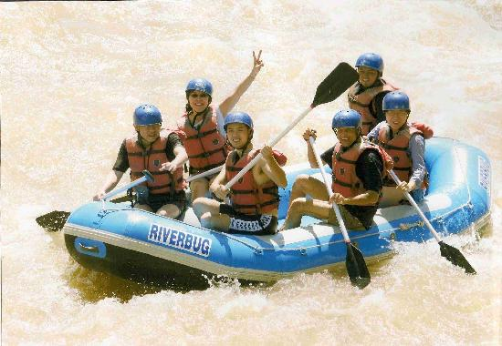 Riverbug Asia: Oor raft
