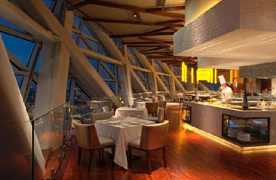 Hyatt Capital Gate: Signature Restaurant - 18 Degrees