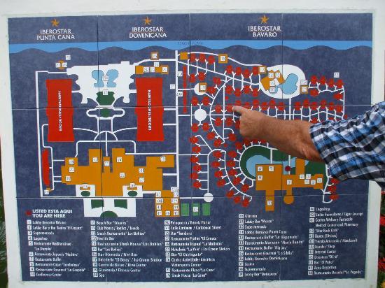Iberostar Dominicana Hotel: plan du site