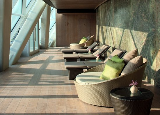 Hyatt Capital Gate: Rayana Spa - Relaxation Room