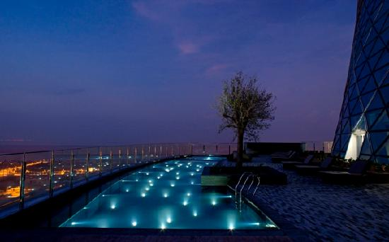 Fitness centre picture of hyatt capital gate abu dhabi - Capital tower fitness first swimming pool ...