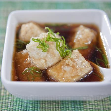 Sushi Wave Authentic Japanese: age dashi tofu