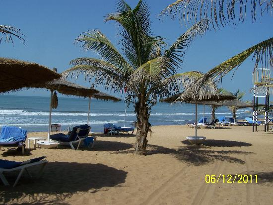 Serekunda, Gambiya: the beach
