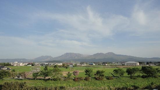 Yumeoiso : 露天風呂からの風景