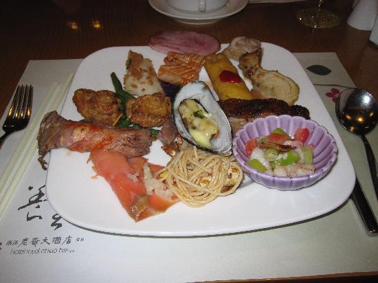 Hotel Royal Chiao Hsi: Dinner Buffet
