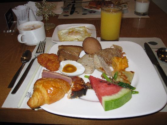 Hotel Royal Chiao Hsi: Breakfast Buffet