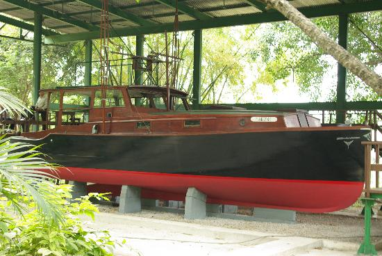 พิพิธภัณฑ์เฮอร์มิงเวย์ ฟินซา วิเกีย: The boat