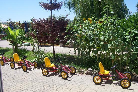 Montenero di Bisaccia, Italy: go kart per i bambini