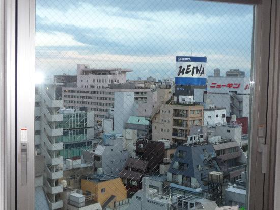 Mitsui Garden Hotel Ueno: View from my room