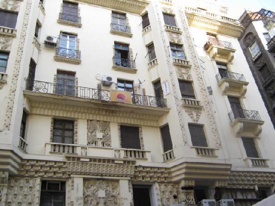 Mesho Inn Hostel : sign fom street