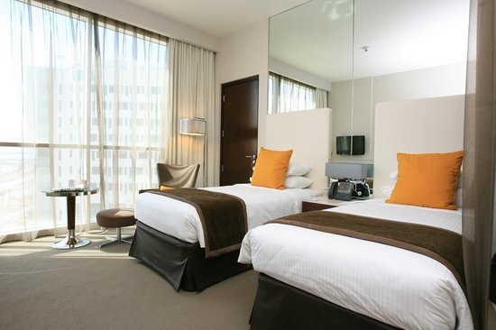Centro Yas Island Abu Dhabi by Rotana: Classic Room - Twin Bed