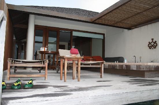 พาราไดซ์ ไอแลนด์ รีสอร์ท แอนด์ สปา: Water Villa 1