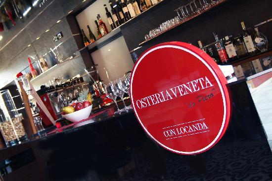 """Locanda Osteria Veneta """"da Piero"""" : il Bancone bar"""