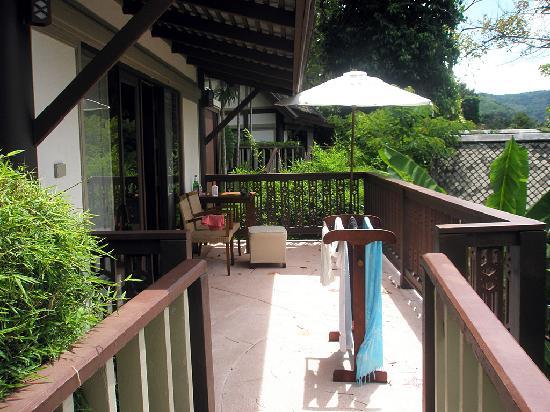 Centara Villas Phuket: balcony and villa.