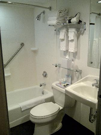 Four Points by Sheraton Manhattan Chelsea: bathroom - small but functional