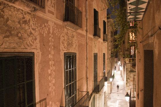 AinB Gothic-Little Jaume: vista dall'appartamento