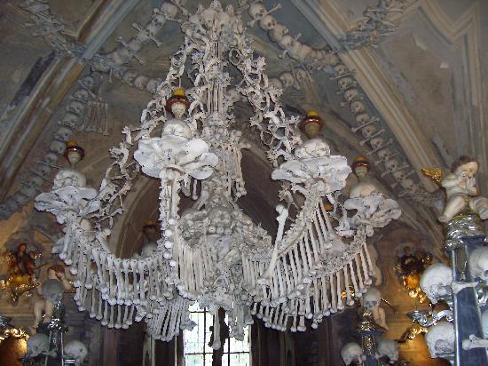 Ossuary / The Cemetery Church: l'interno dell'ossario