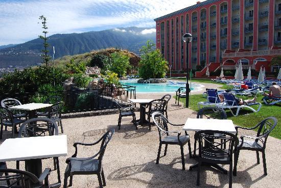 Hotel Las Aguilas : Terrace View