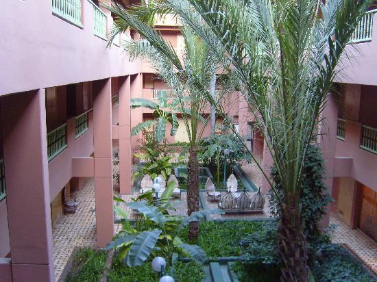 Tropicana Hotel Club Paladien: Quad gardens