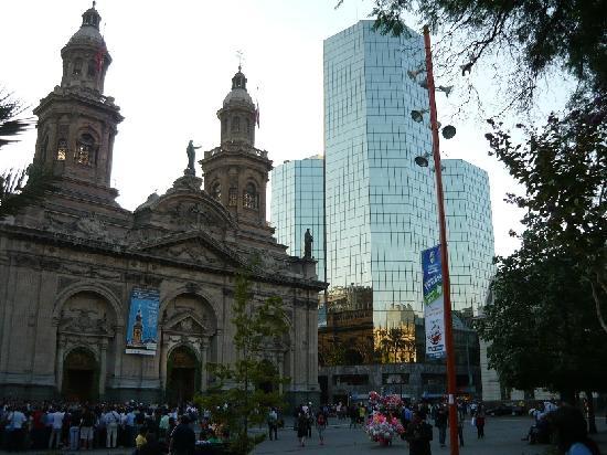 Plaza de  Armas centro de Santiago