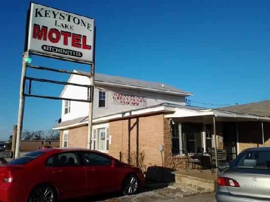 Keystone Lake Motel: Front lobby