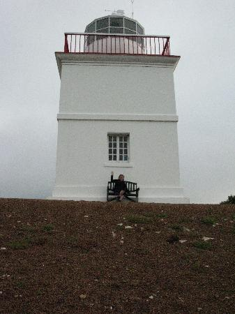 Cape Borda Lighthouse Keepers Heritage Accommodation: Cape Borda light